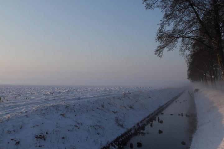 Zwanenburg winter